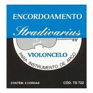 Encordoamento Torelli Violoncelo Stradivarius Ts