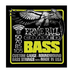 Kit 10 Encordoamentos Contrabaixo Ernie Ball 4 Cordas 0.40 3832
