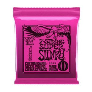 Encordoamento Ernie Ball Guit 09 2623 7c