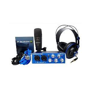 Kit Interface USB Presonus AudioBox Studio