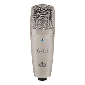 Microfone Estúdio Behringer C 1U USB