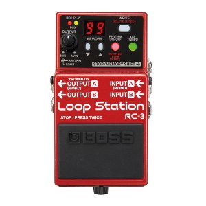 Pedal Guitarra Boss Loop RC 3