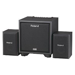 Combo Monitor Roland 2.1 CM 110 Preto
