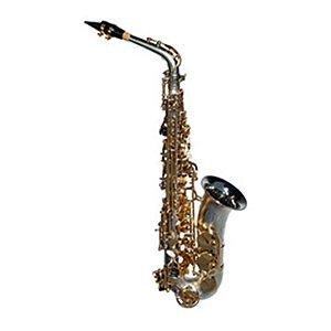 Saxofone Alto Dolphin Mib 8108 com chaves douradas