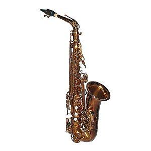 Saxofone Alto Dolphin Mib 8112 Café