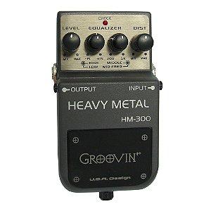 Pedal Guitarra Groovin Heavy Metal HM 300