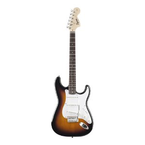 Guitarra Stratocaster Squier By Fender Affinity Brown Sunburst