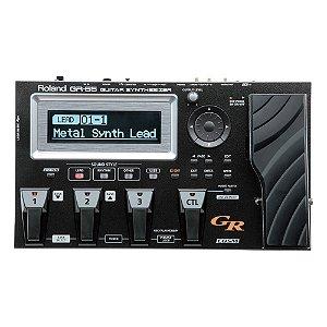 Pedaleira MIDI Roland GR 55 com GK3 - Preta