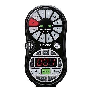 Afinador Cromático Treinador Vocal Roland VT 12
