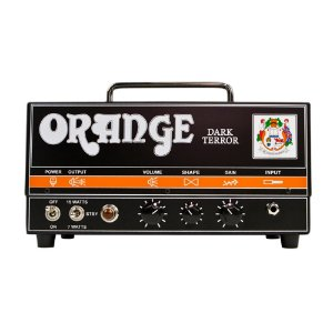 Cabeçote Guitarra Orange Dark Terror 15
