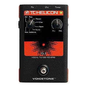 Pedal Voz TC Helicon Voice Tone R 1