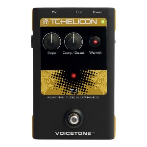 Pedal Voz TC Helicon Voice Tone T 1
