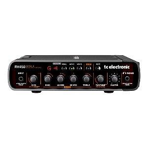 Cabeçote Contrabaixo TC Electronic RH 450