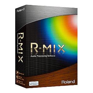 Software de Processamento de Áudio Roland R-MIX