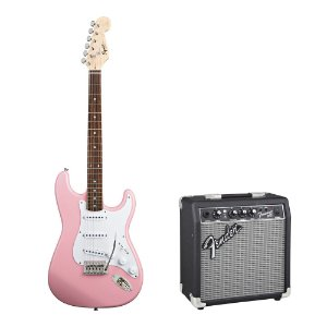 Kit Squier by Fender Genuine Bullet   Fender Frontman 10G