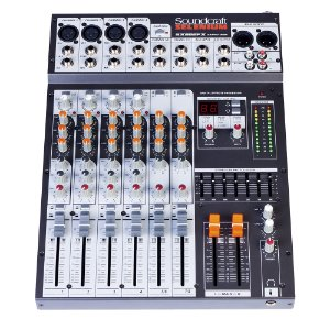 Mesa Analógica Soundcraft SX 802 FX