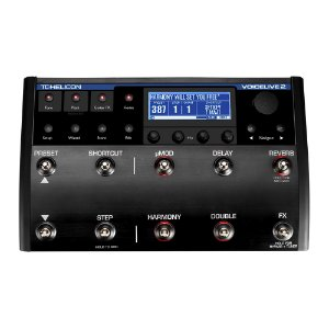 Pedaleira Voz TC Helicon Voice Live 2 com VLoop