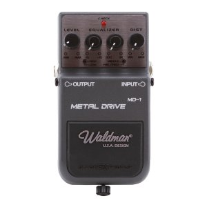 Pedal Guitarra Waldman Metal Distortion MD 1
