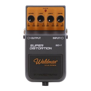 Pedal Guitarra Waldman Super Distortion SD 1