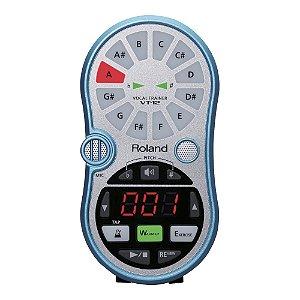 Afinador Cromático Treinador Vocal Roland VT 12 - Azul