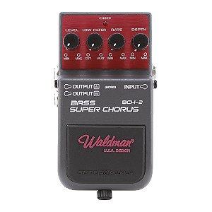 Pedal Contrabaixo Waldman Bass Super Chorus BCH 2