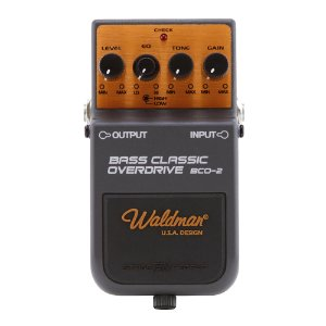 Pedal Contrabaixo Waldman Bass Classic Overdrive BCO 2