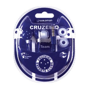 Fone In Ear Waldman Super Fan Cruzeiro