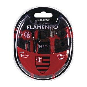Fone In-Ear Waldman Super Fan Flamengo