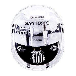 Fone In Ear Waldman Super Fan Santos