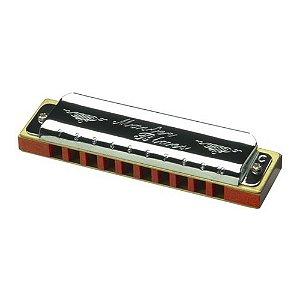 Gaita Diatônica Hering HB Master Blues 9020 C com Case