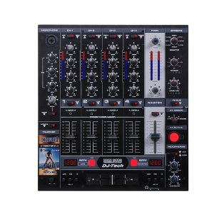 Mixer DJ 4 canais DJ Tech DDM 3000