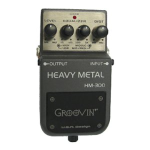 Pedal Guitarra Groovin Distortion HM 300