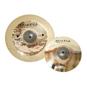 "Set Pratos Efeito Istanbul Four Way Stax 11"" 15"""