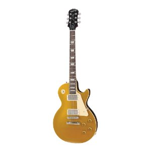 Guitarra Les Paul Epiphone Standard Metallic Gold