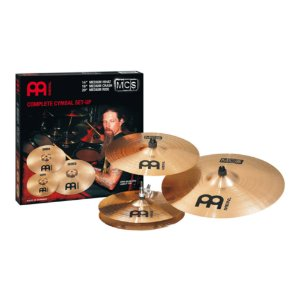 "Set Pratos Meinl MCS Complete 14/16/20 + 18"" Medium Crash"