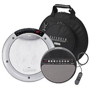 Kit Percussão Korg Wavedrum WD X com bag   Wavedrum Mini