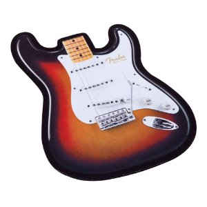 Mouse Pad Fender Guitarra Strat Sunburst
