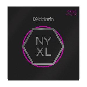 Encordoamento Guitarra D'Addario 0,09 NYXL 0942