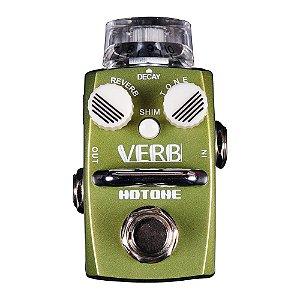 Pedal Guitarra Hotone Reverb Verb SRV 1