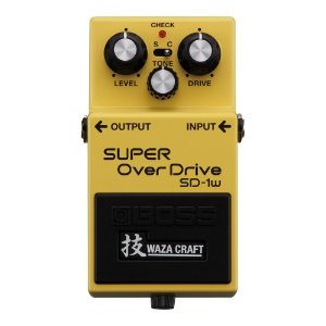 Pedal Guitarra Boss Super Overdrive SD 1W
