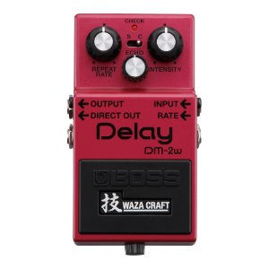 Pedal Guitarra Boss Delay DM 2W