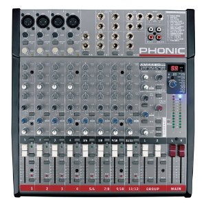 Mesa Analógica Phonic AM 442 D USB