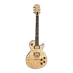Guitarra LP PHX Luxo Abalone Malibu Pir Top QM