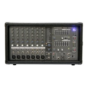Mesa Amplificada Phonic Powerpod 740 P