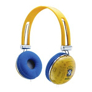 Fone On-Ear Waldman SG 10 CBF Amarelo