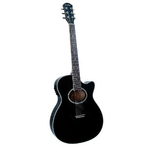 Violão Mini Jumbo Di Giorgio Iron Black