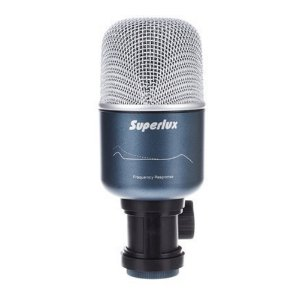 Microfone para Bumbo Superlux PRO 218A