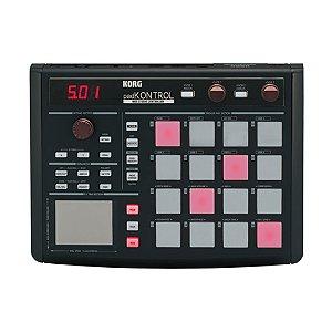 Controlador MIDI USB Korg Padkontrol KPC 1