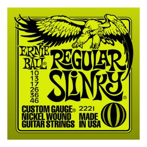 Encordoamento Guitarra Ernie Ball 0,10 2221