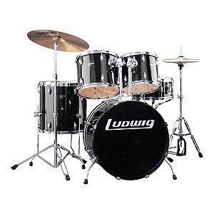 Bateria Acústica Ludwig Accent Drive LC 175 com pratos